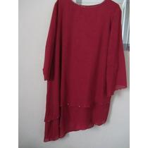 Conjunto Fino Saia/blusa , N, 54, Plus Size
