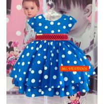 Vestido Infantil Galinha Pintadinha C/ Pérolas - Tam 1 / 3