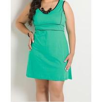 Vestido Plus Size Gordinha Linda Roupa Grande Gg