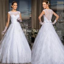 Vestido De Noiva Com Mangas Bordado Importado