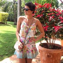 Vestido Floral Maravilhoso - Unico No Mercado Livre