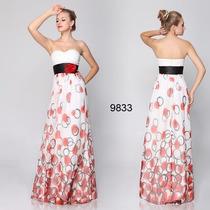 Maravilhoso Vestido Ever Pretty Flor Na Cintura Mod 9833