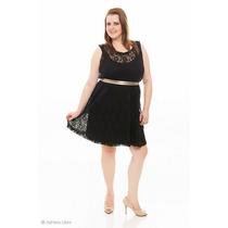 Promoção Plus Size Sob Medida Várias Cores Vestido De Renda