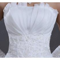Vestido Importado Festa Noiva Debutante Lindo Frete Grátis