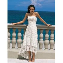 Vestido De Noiva Mullet Tomara Que Caia Sob Medida Em Renda