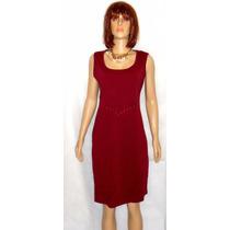 Vestido Tubinho Plus Size Tecido Grosso Para Outono Inverno