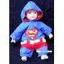 Fantasia Super Homem / Superman Bebê Tam 1