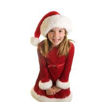 Vestido Infantil De Natal Importado A Pronta Entrega!!