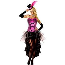 Fantasia Cancan Pink Longa Importada Tam. M ( 38 A 40)