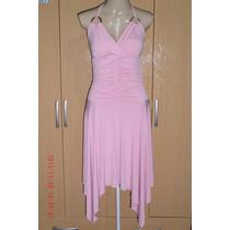 Lindo Vestido C/ Elastano - Voga Tam; G R$ 40,00