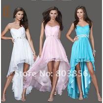 Vestido Para Festas Bailes Formatura 3 Cores