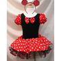Vestido Fantasia Luxo Minnie Disney Mais Confortavel