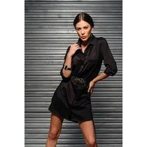Vestido Camisão Preto - Frete Grátis - Marca Belle & Bei