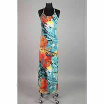 Vestido Longo Estampado Ref.: 4026