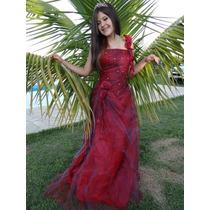 Vestido De Festa 15 Anos Vermelho