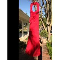 Vestido De Festa Alta Costura Em Crepe De Seda - Luddy Ferre