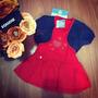 Vestido Bebê Com Bolero