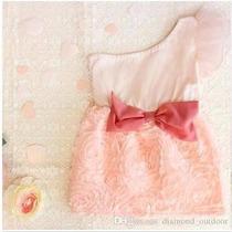 Vestido De Um Ombro Para Bebês - Loja Da Fefinha - Importado