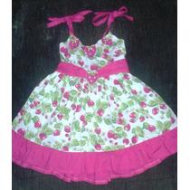 Vestido Moranguinho Baby
