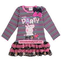 Vestido Peppa Pig (pronta Entrega)
