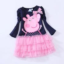 Vestido Peppa Pig Tutu (pronta Entrega)