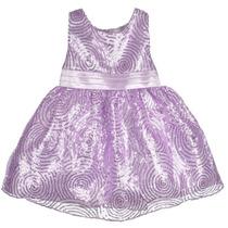 Vestido Infantil Importado De Festa Princesa Lilás
