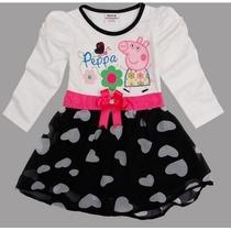 Vestido Peppa Pig Pronta Entrega