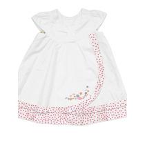 Vestido Lilica Ripilica Branco E Rosa - Tamanhos 1p / 3p
