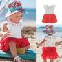Vestido Verão Baby Kids...com Babados