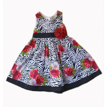 Vestido Menina Roupinha De Bebes Para Menina A0071 - Nvbaby
