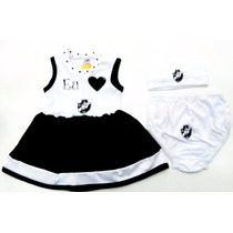 Vestido Bebê Vasco