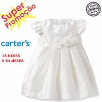 Vestido De Festa E Batizado Carters Original 18 E 24 Meses