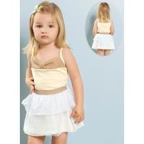 Roupa Infantil Menina - Vestido Renda