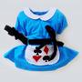 Vestido Bebê Alice No País Das Maravilhas