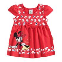 Vestido Infantil Feminino Minnie - Domanikids