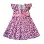 Vestido Menina Roupinha De Bebes Para Menina A0076 - Nvbaby