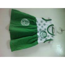 Vestido Torcida Baby Palmeiras