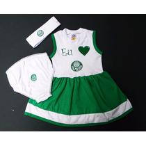 Vestido Palmeiras De Bebê
