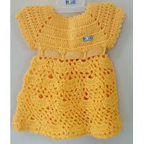 Vestido Crochê Bebê