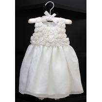 Vestido Branco Princess 12 Meses (pequeno) Promoção!!!