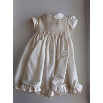 Vestido De Festa/ Batizado - Para Bebê -silmara