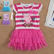 Peppa Pig Vestido (pronta Entrega)