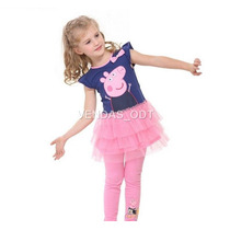 Vestido Infantil Peppa Pig Pepa Menina 2 A 3 Anos Tule Tutu