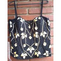 Corpete N° 02/corselet/corset Bordado Pedrarias E Importado