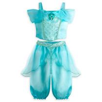 Vestido Baby Princesa Jasmini Original Disney Completo