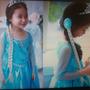 Princesa Anna Elsa Cosplay Do Kid Vestido De Festa Vestidos