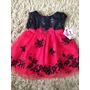 Vestido Importado Infantil Yougland Baby Luxo 18 Meses
