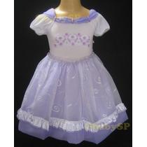 Vestido De Festa Infantil Daminha Casamento Princesa Branco