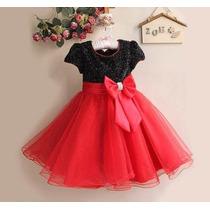 Vestido Importado Infantil Criança De Festa (luxo)