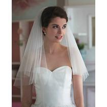 Véu De Noiva Tule Francês - Pronta Entrega